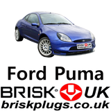 Ford Puma Racing Zetec S Spark Plugs Brisk Premium Plugs UK equivalent to NGK Motorcraft bosch Denso