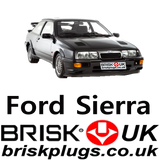 Spark Plugs Ignition for Sierra Whale tail cossie RS Cosworth modified upgrade Stage 1 2 3 Brisk Racing UK