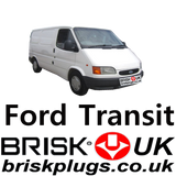 Replacement Spark Plugs For Ford Transit LPG CNG Metano Brisk Racing UK