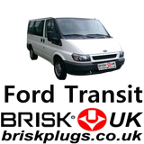 Ford Transit Special LPG CNG Spark Plugs Brisk Racing UK NGK Denso Bosch