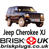 jeep xj Brisk Spark Plugs Tuning Supercharged Cherokee AMC engine more power 4.0 4.2 tuning
