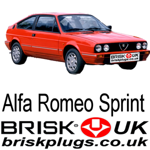 brisk performance spark plugs for alfa romeo sprint veloce