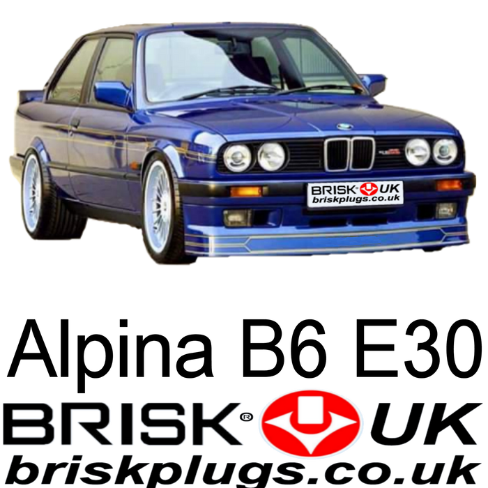 Alpina B6 E30 Spark Plugs 83-90 2.8 3.5 Brisk Racing Tuning