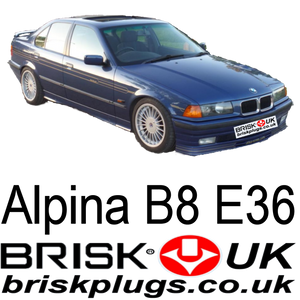 Brisk Spark Plugs Alpina B8 E36 4.6, racing, tuning, m3