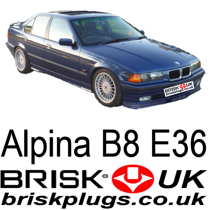 Alpina B8 E36 4.6 Brisk Spark Plugs 95-98 Competition Racing Tuning