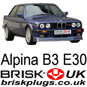 ALPINA b3 E30 m3 2.7 spark plugs Brisk Racing Tuning parts