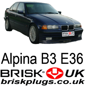 Brisk Spark Plugs for Alpina B3 E4 E3 S52B32 recommended replacement parts Brisk UK