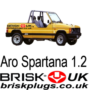 Brisk spark plugs for Aro Spartana 1.2