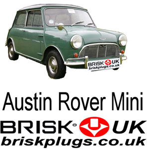 Mini classic race parts spark plugs ignition Brisk Racing UK