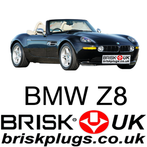 BMW Z8 S38B49 upgrade brisk spark plugs for more power