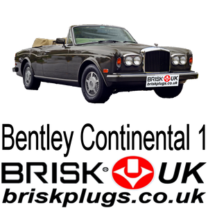 Bentley Continental 6.75 Brisk Spark Plugs UK USA EU