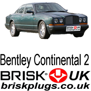 Bentley Continental 2 replacement spark plugs brisk UK shop online