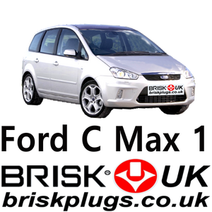 Ford C max Replacement spark plugs Brisk UK Motorcraft LPG Cng