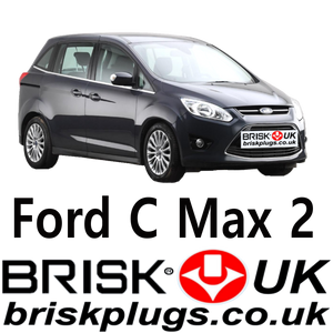 Spark Plugs for Ford C Max Brisk Racing UK LPG CNG parts