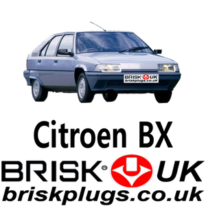 citroen Bx brisk racing spark plugs lpg cng methane gpl