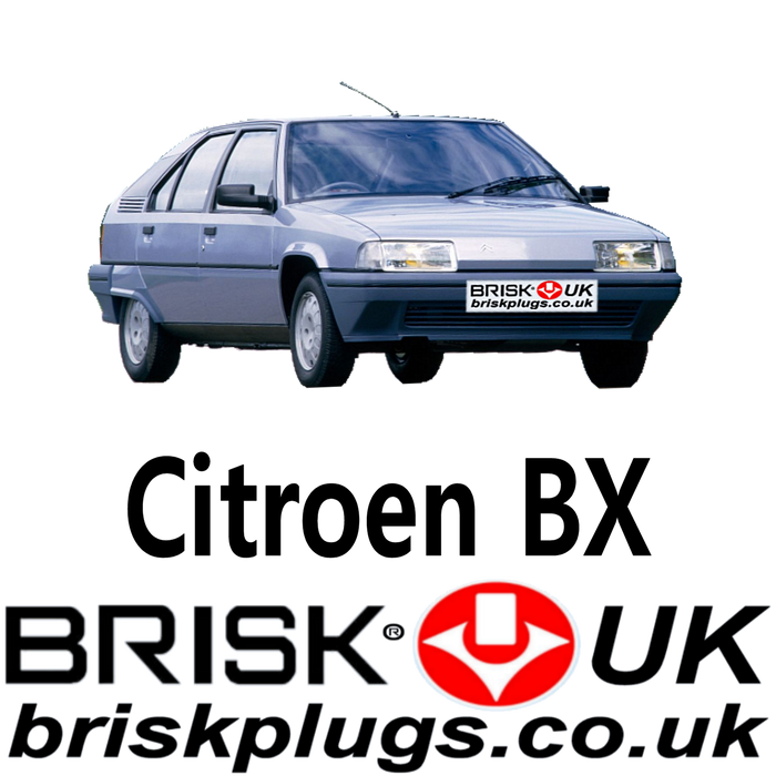 Citroen BX Brisk Performance Spark Plugs 1.1 1.4 1.6 1.9 GTi 82-95