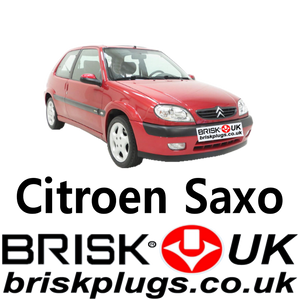Citroen Saxo spark plugs brisk racing race tuning lpg plug