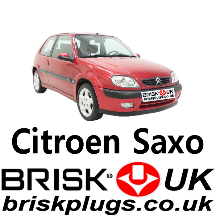 Citroen Saxo Spark Plugs 1.0 1.1 1.4 1.6 96-04 Brisk Racing Tuning