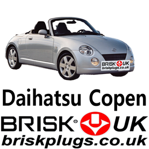 Daihatsu Copen brisk spark plugs UK 0.66 Turbo 1.3 racing tuning