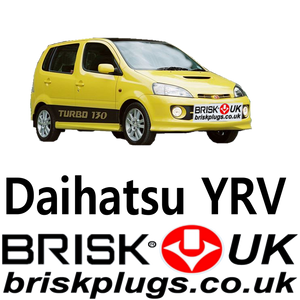 Daihatsu yrv spark plugs brisk racing tuning performance autogas methane plug