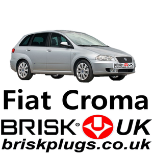 Fiat Croma 2 Brisk Spark Plugs high performance tuning ignition for fiats