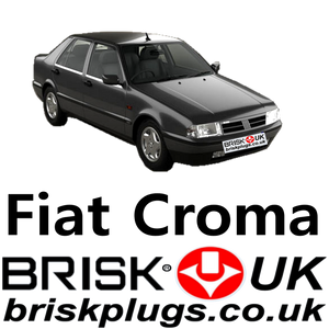 Fiat Croma Brisk Spark plugs racing tuning performance replacement
