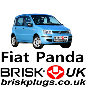 Fiat Panda 2 new Replacement Premium Brisk Spark plugs