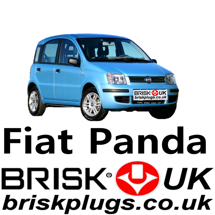Fiat Panda New Brisk Spark Plugs Racing LPG GPL 1.1 1.2 1.4 03-18