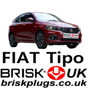 New Fiat Tipo replacement spark plugs Brisk Ignition parts UK