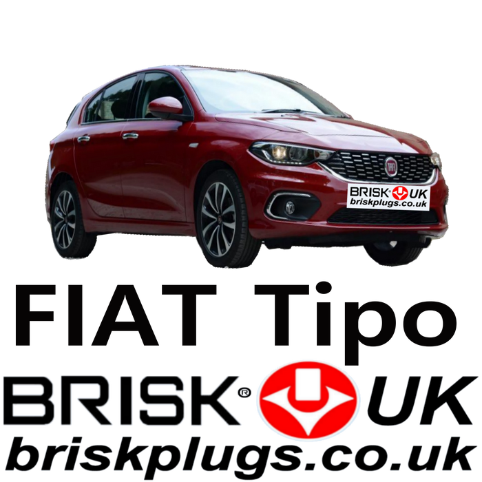 Fiat Tipo Brisk Spark Plugs Racing LPG CNG 1.4 Tjet 15-ON