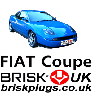 Fiat Coupe 16v 20v turbo spark plugs Brisk racing LPG CNG