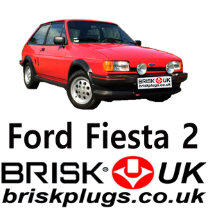 FORD FIESTA XR2 BRISK SPARK PLUGS RACING PERFORMANCE TUNING