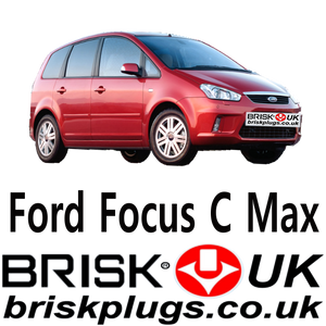 Ford Focus C max replacement spark plugs Brisk Motorcraft
