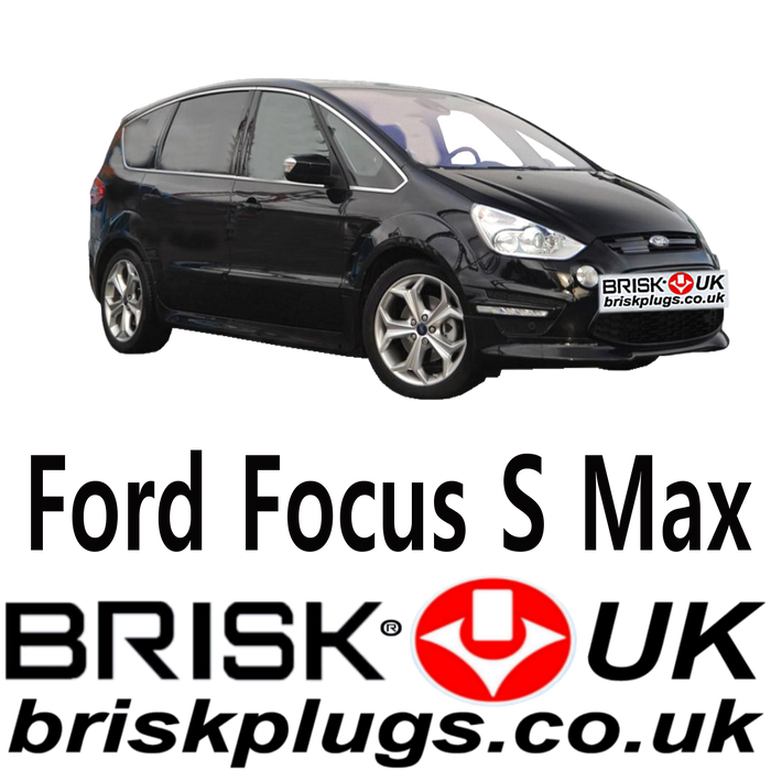 Ford S Max Brisk Performance Spark Plugs 2.0 2.5 20v ST RS 05-14