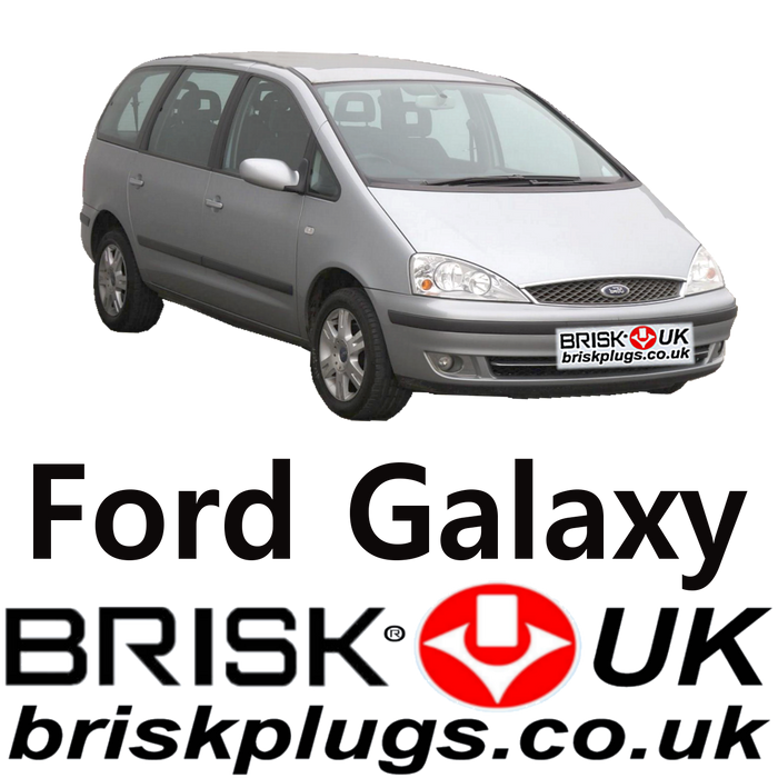 Ford Galaxy Mk2 Brisk Spark Plugs 2.0 2.3 2.8 00-06 LPG CNG Methane