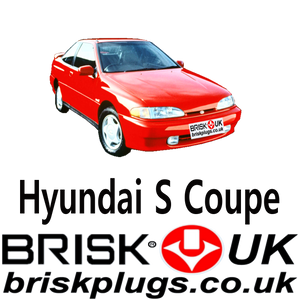Brisk Racing Spark Plugs For Hyundai S coupe Turbo Tuning