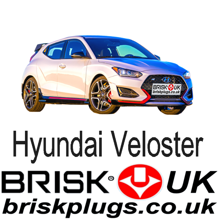 Hyundai Veloster 1.6 16V GDi 11-ON Brisk Racing Spark Plugs
