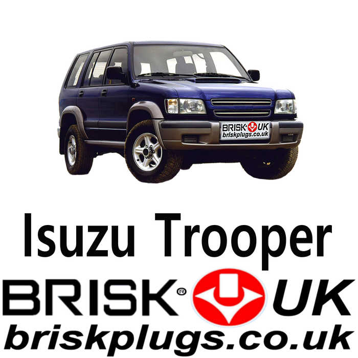 Isuzu Trooper Brisk Spark Plugs Racing LPG CNG Metano 3.5 99-08