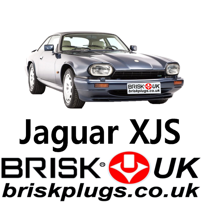 Jaguar XJS 3.6 4.0 5.3 6.0 85-96 Brisk Performance Spark Plugs