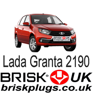 Lada Granta Renault replacement spark plugs for tuning racing more power Brisk Racing