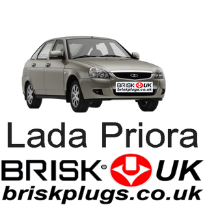 Lada Priora Consul 1.6 AvtoVaz 08-ON Tuning Brisk Spark Plugs