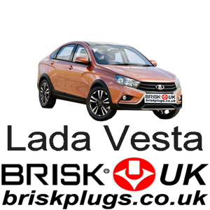 Lada Vesta 1.6 15-ON AvtoVaz Renault Brisk Performance Spark Plugs