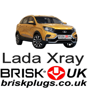 Lada Xray Renault performance tuning spark plugs more power brisk racing UK delivery to Russia Asia