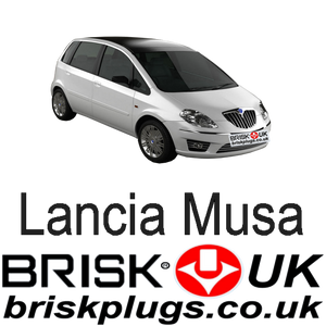 Lancia Musa Parts Spark Plugs LPG GPL CNG Brisk Racing Tuning UK