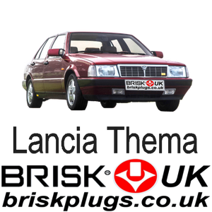 Lancia Thema HF 8.32 16v Spark Plugs Tuning Power Brisk Racing ignition parts