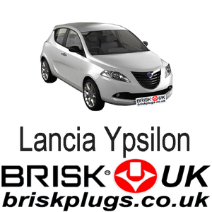 Lancia Ypsilon 846 Replacement Spark Plugs Recommended upgrade tuning performance LPG GPL Brisk Racing UK USA Asia