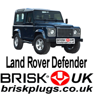 Land Rover Defender Brisk Spark Plugs UK Racing Tuning LPG CNG GPL Plugs