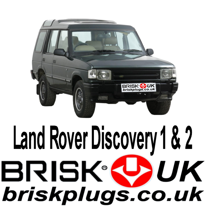 Land Rover Discovery 2.0 3.5 3.9 4.0 4.6 89-04 Brisk Spark Plugs Tuning