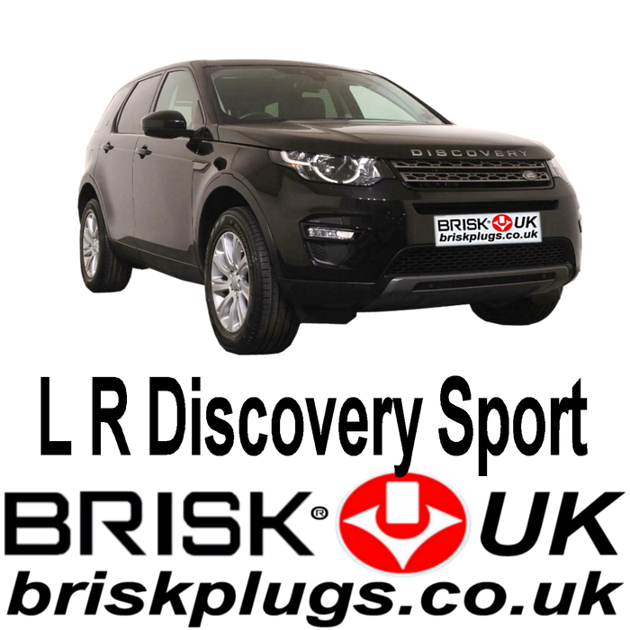 Land Rover Discovery Sport 2.0 3.0 Supercharged 16-ON Brisk Spark Plugs