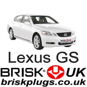 Lexus GS gws 300 430 tuning parts spark plugs brisk racing performance